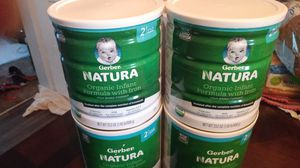 Gerber natural organice infant formula with iron for Sale in Kent, WA