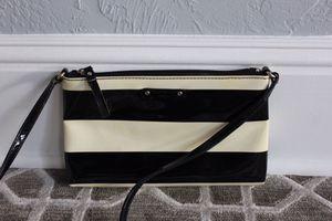 Kate Spade Patent Black and Cream Shoulder Bag for Sale in Winter Park, FL
