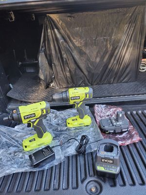 Ryobi 18v impact driver and drill/driver kit for Sale in Riverview, FL