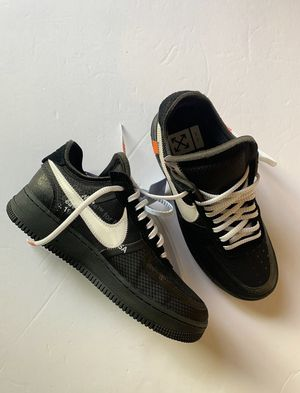 Off White X Nike Air Force 1 Black Size 10.5 for Sale in New Kensington, PA