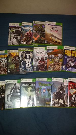 Xbox 360 games for Sale in Lake Placid, FL