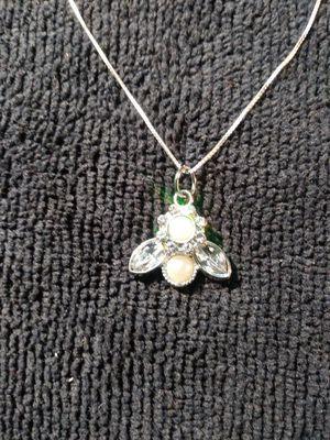 Swarovski Crystal pearl necklace for Sale in Denver, CO