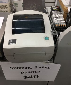 Zebra LP2844 thermal label printer for Sale in Pittsburgh, PA