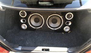 2 10in subs box for Sale in Alexandria, VA
