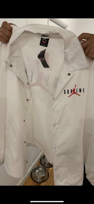 Limited edition - SUPREME JORDAN COLAB JACKET - Brand New for Sale in Los Angeles, CA