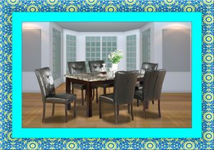5pc dining table set with 4 chairs free delivery for Sale in Crofton, MD