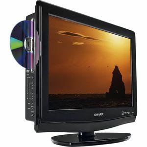 19 inch Sharp DVD TV...INTEGRATED DVD.NO remote control. for Sale in El Monte, CA
