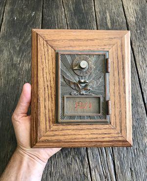 Vintage Mailbox Door - Vintage Post Office Box Door for Sale in Trabuco Canyon, CA