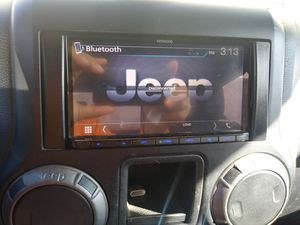 Stereo deck nav for jeep jk jku rubicon Sahara. for Sale in Tacoma, WA
