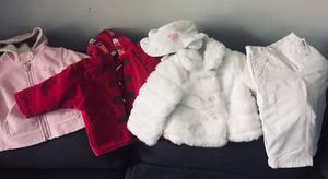 5pcs Baby girl outer wear clothes sz 12-24m gap the children's place old navy for Sale in Delray Beach, FL