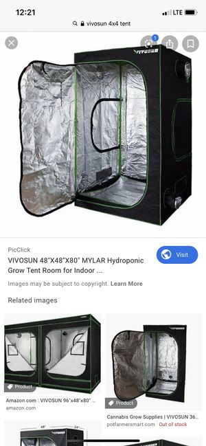 Vivsosun 4x4 tent for Sale in Arden-Arcade, CA