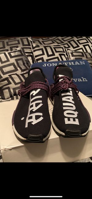 Adidas human race is size 12 for Sale in Etna, OH
