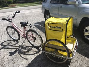 Doggie Tote bicycle trailer carrier for Sale in Fort Lauderdale, FL