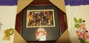 Fire fighter picture frame for Sale in Montesano, WA