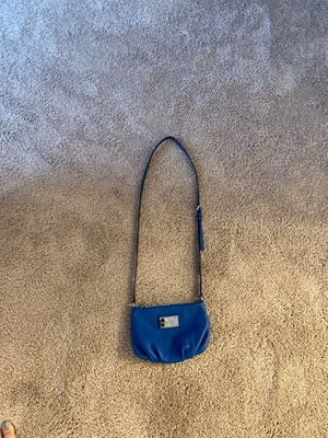 Authentic Marc Jacobs blue crossbody bag for Sale in Raleigh, NC