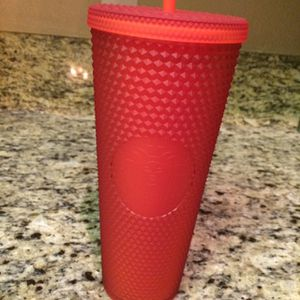 Red Studded Starbucks Cup for Sale in Corona, CA