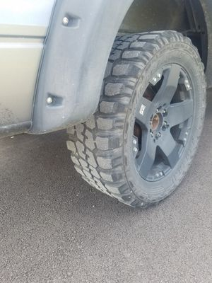 Mud tires Federals 20s Rims not forsale for Sale in Chicago, IL