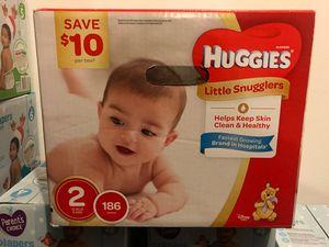 Huggies size 2 for Sale in Alafaya, FL
