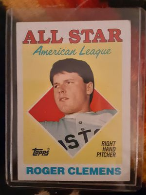 Rodger clemens baseball card for Sale in Anaheim, CA