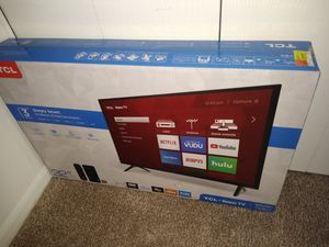 BRAND NEW SMART TV, NEW & UNOPENED for Sale in White Lake charter Township, MI
