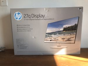 HP 27Q LED QHD Computer Monitor for Sale in Chicago, IL