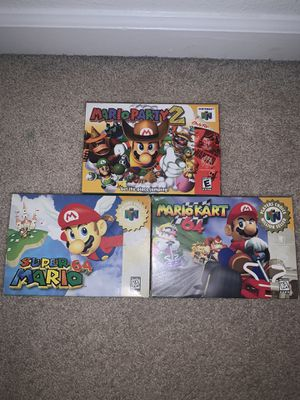 nintendo 64 games! for Sale in Clackamas, OR