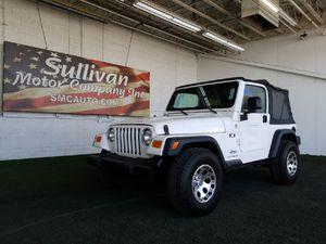 2005 Jeep Wrangler for Sale in Mesa, AZ