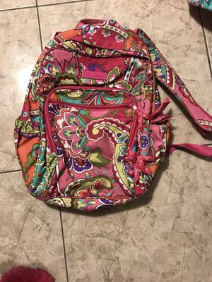 Vera Bradley backpack pink pattern for Sale in Kissimmee, FL