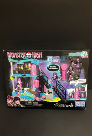 Monster High Dolls Mega Blocks Set LEGO 337 Pieces for Sale in Irving, TX