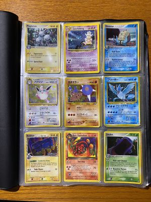 73 holo pokemon card lot - read for Sale in Raleigh, NC
