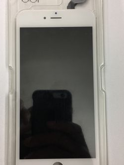 iPhone 6s Plus LCD Digitizer Touch Screen Assembly Part - White for Sale in Lakewood,  CA