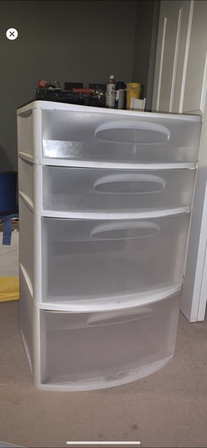 Plastic drawer set for Sale in Everett, WA