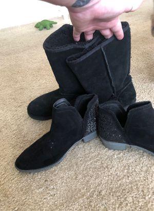 Girls blacks boots for Sale in Sarasota, FL