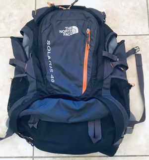 NORTH FACE : Solaris 40 backpack- great condition for Sale in Phoenix, AZ