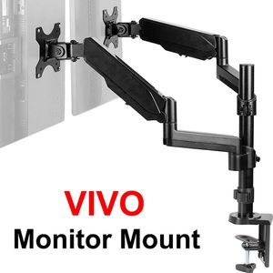 """New in box $35 VIVO Dual Monitor Arm Mount 17-32"""" Screens Height Adjustable Full Articulating Tilt Swivel for Sale in El Monte, CA"""