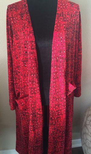 New women's Large (size 14-16) Lularoe Sarah cardigan for Sale in Seminole, FL