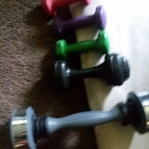 Weights to workout. Keep fit for Sale in Riverside, CA