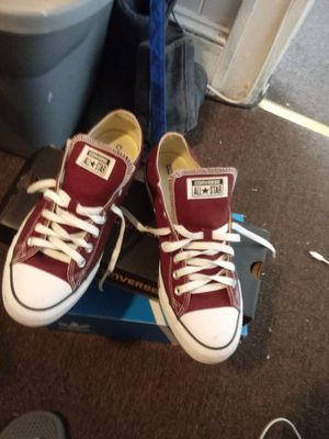 Burgundy converse for Sale in Baltimore, MD