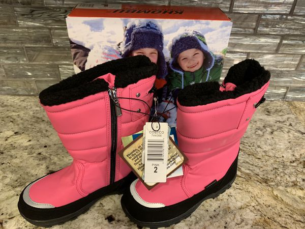 Khombu Snow Boots, youth size 2