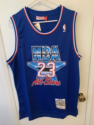 Michael Jordan #23 blue 1993 All Star Game Jersey for Sale in Los Angeles, CA