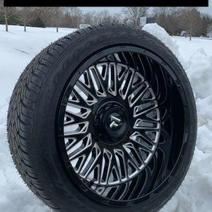22x12 Wheels 6x5.5/ 6x135 & 305/40R22 Atturo AZ800 Brand New for Sale in Elgin, IL