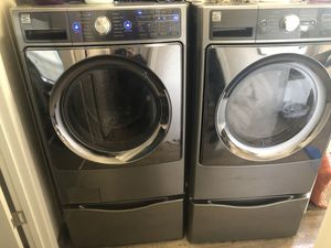 Kenmore Elite Washer & Dryer (Elec) W/ Steam Wash for Sale in Carlisle, PA
