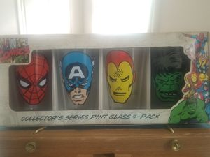 Marvel Collectors glasses for Sale in Cleveland Heights, OH