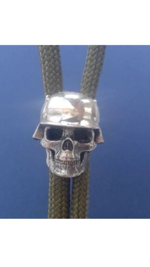 German skull and helmet in sterling silver for Sale in Natrona Heights, PA
