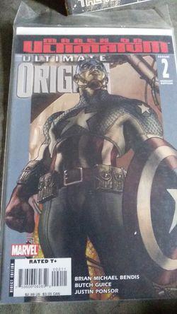 Ultimate origin #captain America for Sale in Fall River,  MA
