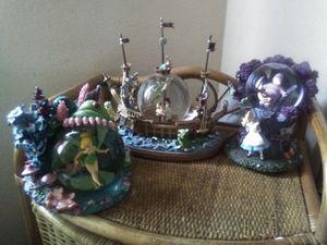 Disney snowglobes for Sale in Clovis, CA