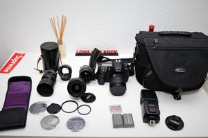 nikon d300 and lens only 1900 shutters for Sale in ROWLAND HGHTS, CA