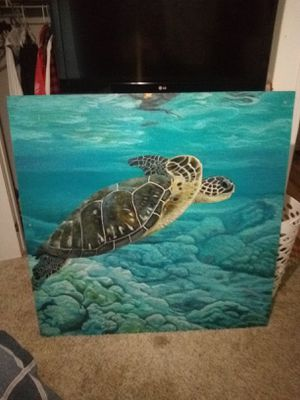 Painting of a Turtle for Sale in Nipomo, CA