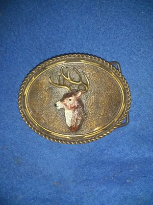 Vintage collectable Buck belt buckle for Sale in Harrisburg, IL