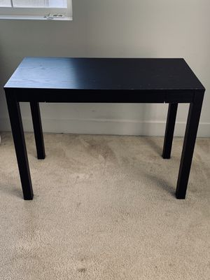 Mainstays Parsons Square End Black Table for Sale in Newark, CA